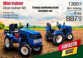Kreditlə traktor