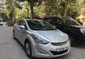 """Hyundai Elantra"" icarəsi"
