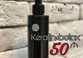 Keratin + Botox