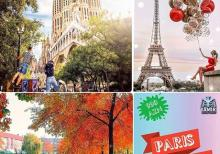 Avropa Turu Barcelona Paris Amsterdam
