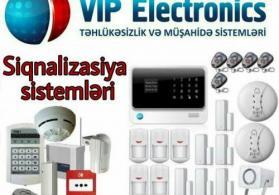 GSM Alarm sistemlərinin quraşdırılması