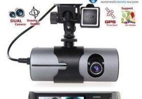 Avtomobil ucun videoqeydiyyatci R300 model.