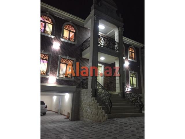 Xalqlarda 3 sotda 2 mərtəbə 6 otaq möhtəşəm villa