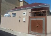 Bineqedi Qesebesinde yeni temirden cixmis 70м²  2 otaq ferdi yasayis evi