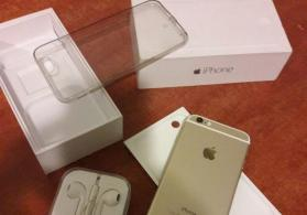 Apple 6 gold