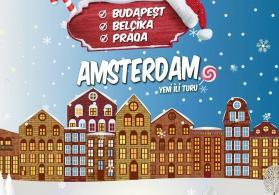 Budapeşt-Belçika-Praqa-Amsterdamda Yeni İl Turu- Şok Şok
