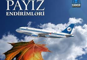 Payıza Özəl Aviabilet Endirimləri - Şok  Kampaniya