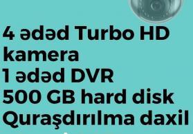 """""""Hikvision"""" kamera və DVR avadanlıqları"""