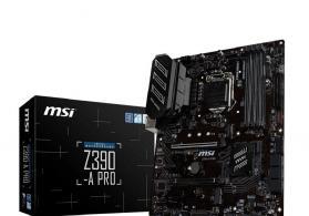 Msi Z390-A PRO .. Prosessor dəstəyi: 9th/8th generation Core / Pentium Gold /Celeron