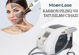 """""""Moonlase"""" karbonpilinq və döymə silmə cihazı"""