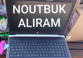 Noutbuk alıram təzə və xarab