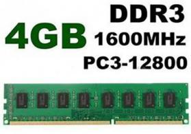 Ddr3 4 gb operativ yaddas (ram)