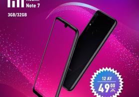 Xiaomi note 7 telefon