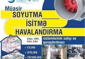 Havalandirma, soyutma və isitmə