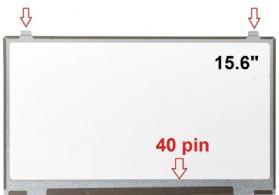15.6 40 pin noutbuk ekrani