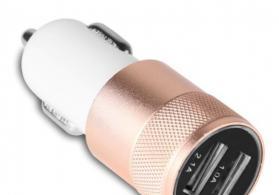 Alüminium Dual USB Avtomobil Şarj Cihazı 2A Yeni