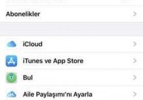 iCloud bərpası