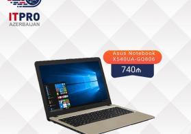 Asus Notebook X540UA-GQ806 satışı