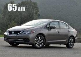 """""""Honda Civic"""" icarəsi"""
