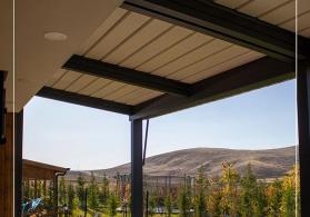 bioklimatik pergola. bioklimatik tavan. bakida pergola ve tent sistemleri
