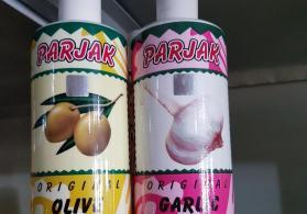 Zeytunlu və sarımsaqlı İran şampunu