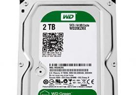 2 TB Western Digital sert disk