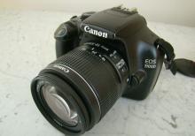 CANON 1100 D Fotoaparati Tecili satilir.