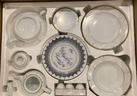 İranin #Zarin brendinin seçilmiş yemək və çay dəstləri