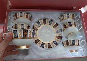 Caska desti 6caska 6 nelbeki.Akdeniz porselen