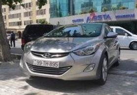 """Hyundai Elantra, 2014"" icarəsi"