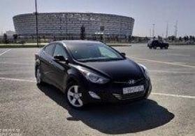 """Hyundai Elantra, 2013 il"" icarəsi"