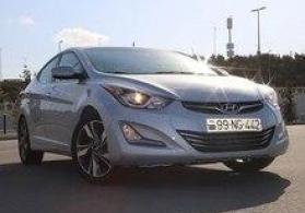"""Hyundai Elantra, 2015"" icarəsi"