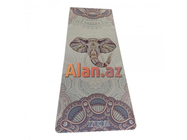 Yoga mat naxışlı ölçülər: 68 x 175 sm5 mm