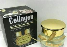 Collagen gece kremi.