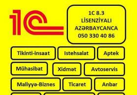 Lisenziyali 1C 8.3 Azerbaycan dilinde
