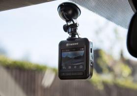 Transcend DrivePro 200 Smart WIFI Video-registrator + 16 GB MicroSD Card