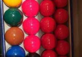 "Bilyard topları ""WU YI Xin Kang Snooker Ball Set"""