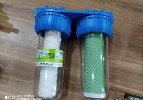 İtalyan istehsali Atlas firmasinin su filtirleri 1litre 2litre tek qosha 3deneli