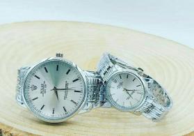 Gümüşü Uniseks Qol saatları Rolex