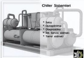 Chiller sistemləri servisi
