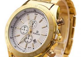 Hər növ qızıl saatların satışı