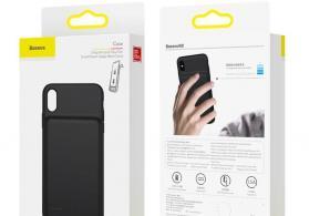 Baseus iPhone X/XS ( ayfon ) modelləri üçün 2 in 1 (2в1): qoruyucu + power bank