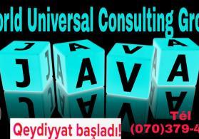 Online Java kursu ---- World Universal Consulting Group