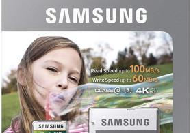 64GB Samsung EVO Micro SD kart