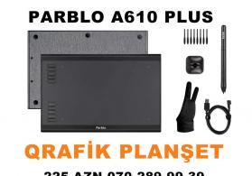 Grafik planshet Parblo A610 PLUS satilir qrafik tablet