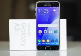 Samsung Galaxy A3 2016 yeni