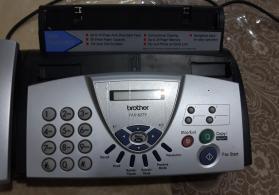 Fax aparati