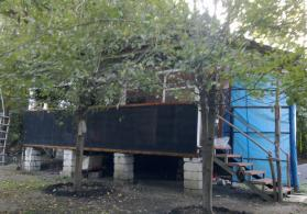 qax rayonunda bağ evi