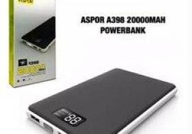 "Power bank ""Aspor A398 20.000mah"""