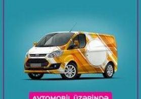 Avtomobil üzərində reklam